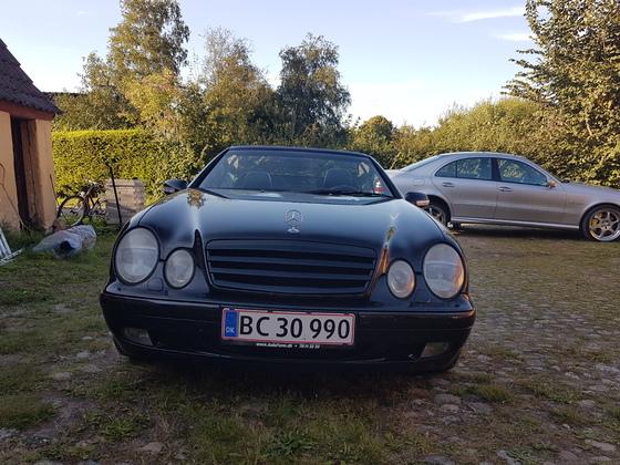 meine fraus Auto w208 cabrio 320